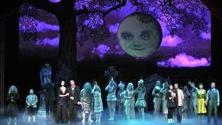 The Company of THE ADDAMS FAMILY (c) Jeremy Daniel