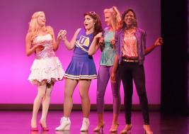 Elle, Serena, Margot & Pilar