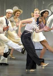 Roundabout Theatre Company's ANYTHING GOES Rachel York and Company 3. Photo by Joan Marcus 2012