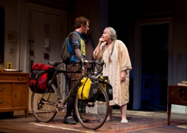 Matt Caplan and Jenny O'Hara in South Coast Repertory's 2013 production of 4000 MILES by Amy Herzog.
