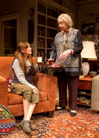 Rebecca Mozo and Jenny O'Hara in South Coast Repertory's 2013 production of 4000 MILES by Amy Herzog.