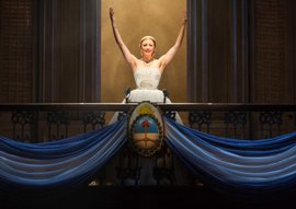 Caroline Bowman as 'Eva Perón' in the National Tour of EVITA. Photo by Richard Termine (2)