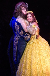 Darick Pead as Beast and Hilary Maiberger as Belle. Photo by Amy Boyle