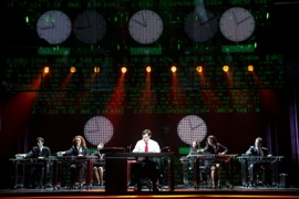 Segerstrom Center - Cast of GHOST – THE MUSICAL tour - Photo by Joan Marcus 2013