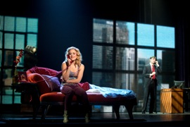 Segerstrom Center - Katie Postotnik and Robby Haltiwanger, GHOST – THE MUSICAL tour - Photo by Joan Marcus 2013