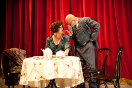 Glenn Koppel & Beth Hansen in Gypsy at The GEM Theatre