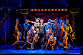 Segerstrom Center - Sasha Allen and the cast of the national touring production of PIPPIN - Photo credit Terry Shapiro_1