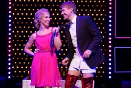 Segerstrom Center - Lindsay Nicole Chambers and Steven Booth in KINKY BOOTS national tour - Photo by Matthew Murphy_8