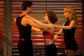 Segerstrom Center - Samuel Pergande (Johnny), Jillian Mueller (Baby) and Jenny Winton (Penny) in the North American tour of DIRTY DANCING - Photo by Matthew Murphy_2