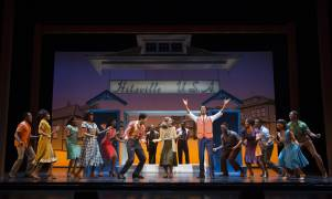 Julius-Thomas-III-as-Berry-Gordy-(center-right)-and-Cast-MOTOWN-THE-MUSICAL-First-National-Tour-photo-by-Joan-Marcus