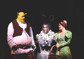 MSP Shrek 2002 T.J. Dawson, Cornelius Jones, Jr., Michelle London Credit Ken Jacques Photography