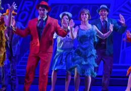 16 - The Cast and Don Lockwood (Leigh Wakford) in MTW's Singin in the Rain