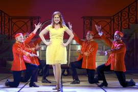 08 Rebecca Ann Johnson in Dirty Rotten Scoundrels Produced by Musical Theatre West